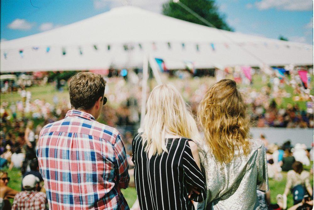 comida en festivales de música